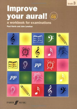 Improve your aural + CD Grade 3 Paul Harris 9780571535446