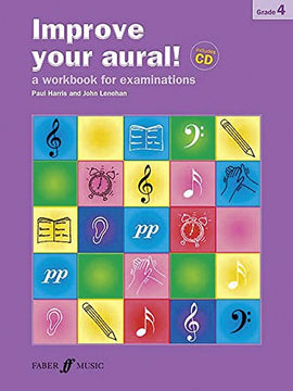 Improve your aural + CD Grade 4 Paul Harris 9780571535453