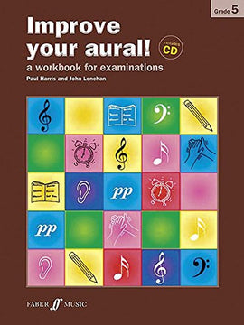 Improve your aural + CD Grade 5 Paul Harris 9780571535460