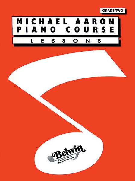 Michael Aaron Piano Course Lessons Grade 2 11002A