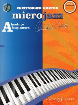 Microjazz Absolute Beginners Christopher Norton Jazz Piano Tutor with CD Backing