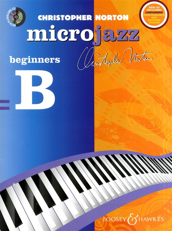 Microjazz beginners B Christopher Norton Sheet Music Tutor Book Learn Piano