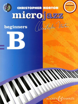 Microjazz beginners B Christopher Norton Jazz Piano Tutor with CD Backing Tracks