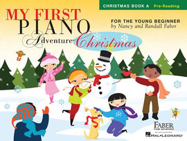 My First Piano Adventures, Christmas Book A, Young Beginner, Pre-Reading, 9781616776251