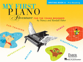 My First Piano Adventures Young Beginner Writing Book A Pre-Reading 9781616776206