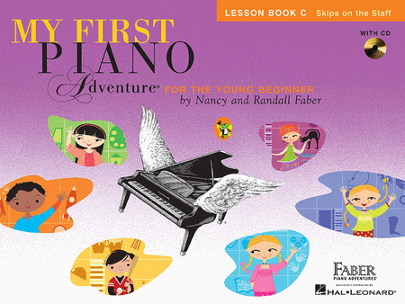 My First Piano Adventures, Young Beginner, Lesson Book C +CD, Skips on the Staff, 9781616776237