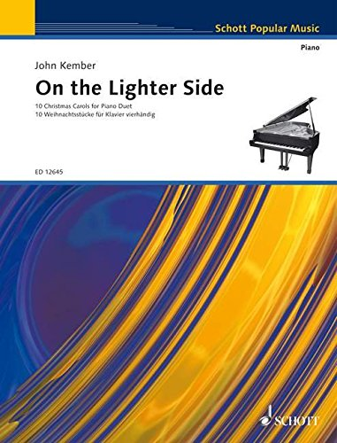 On the Lighter Side Christmas 10 Carols Piano Duet Schott 9790220119484