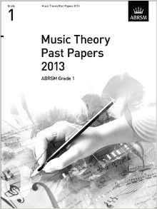 Music Theory Past Papers 2013 Grade 4 ABRSM  9781848496019