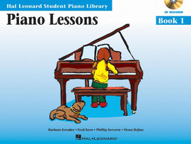 Piano Lessons Book One Hal Leonard Student Piano Library + Audio Download