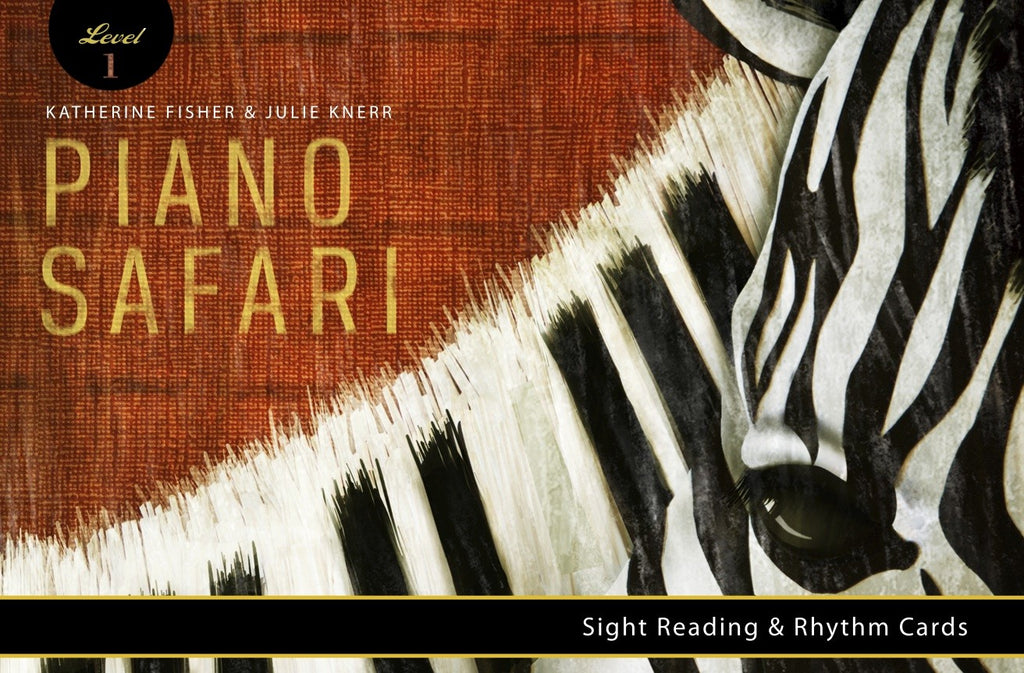 Piano Safari Sight Reading and Rhythm Cards Level 1 9781470611929