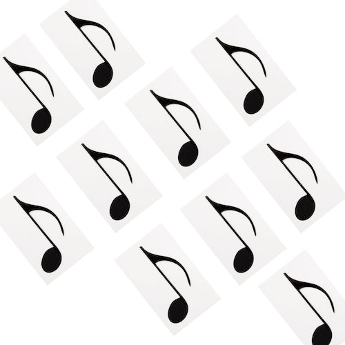 Extra Note Set: Pack of 10 Quavers (1/8 Notes) 7109613576575