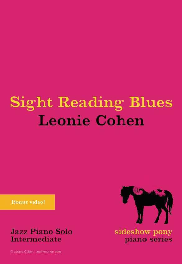 Sight Reading Blues - STUDIO LICENSED