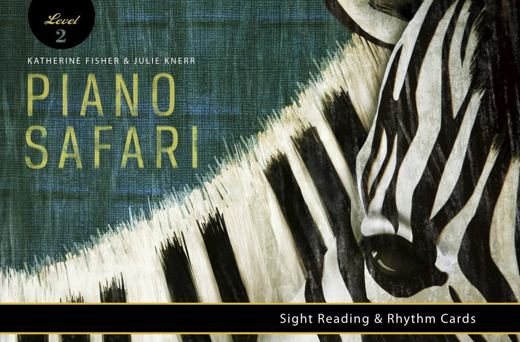 Piano Safari Sight Reading and Rhythm Cards Level 2 9781470611953