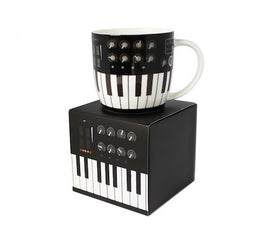 Synthesizer Mug White Bone China Gift Box 5025966723300