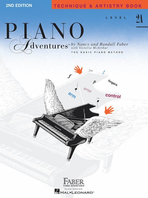 Piano Adventures Technique and Artistry Level 2A Music Tutor Book