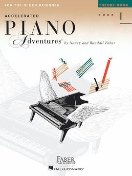 Accelerated Piano Adventures Theory Book 1 Older Beginner HL00420228