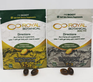 Royal Botanical Soft Gel Sample Packs