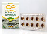 Soft Gel Capsules - 20 pieces (700mg) Silver