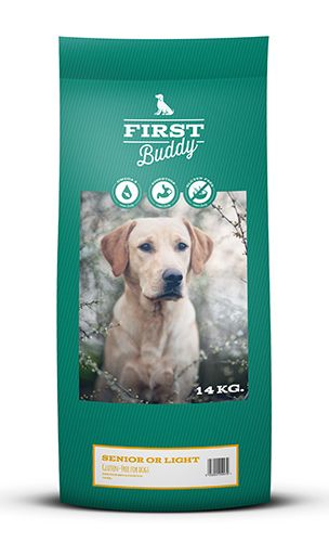 First Buddy Senior & Light 14 kg glutenfreies Trockenfutter