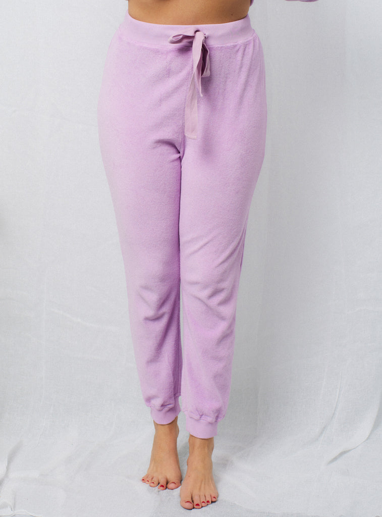 Terry Sweat Pants Orchid