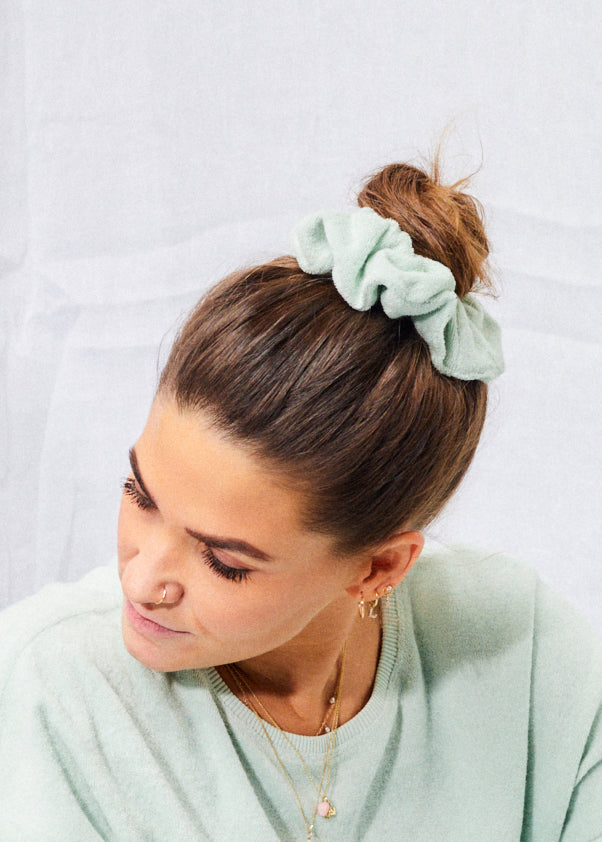 Terry Scrunchie Matcha