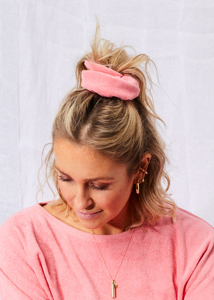Terry Scrunchie Watermelon