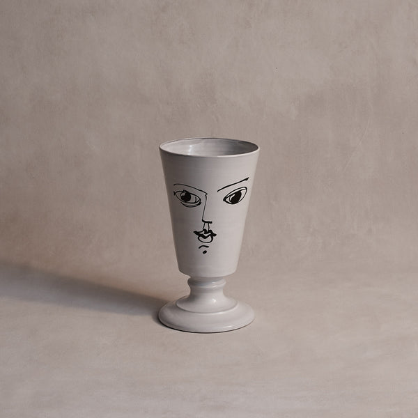 Pierre Carron Footed Vase