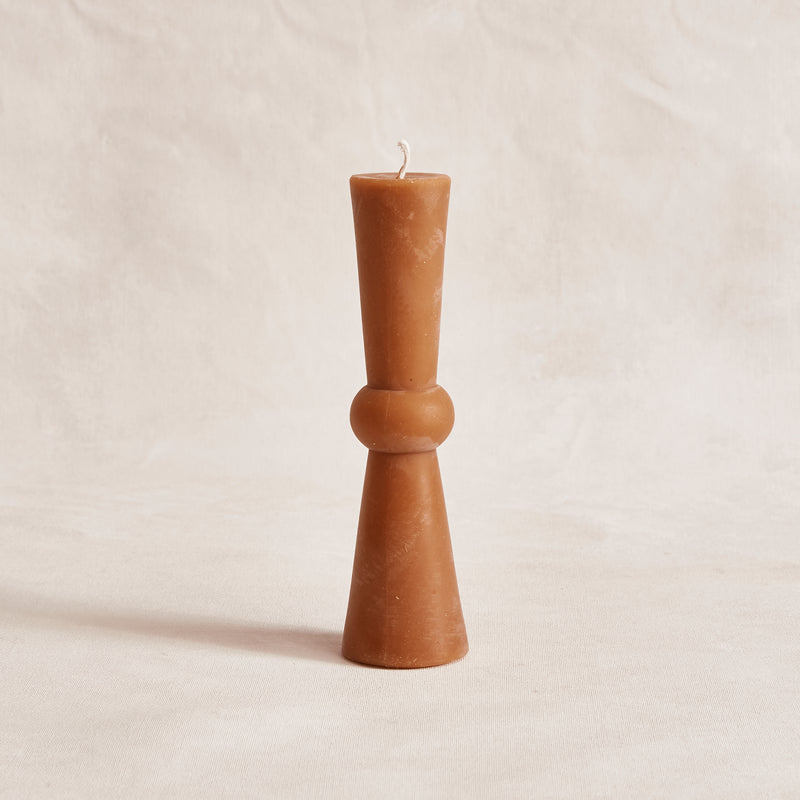 Tall Josee Pillar - Terracotta