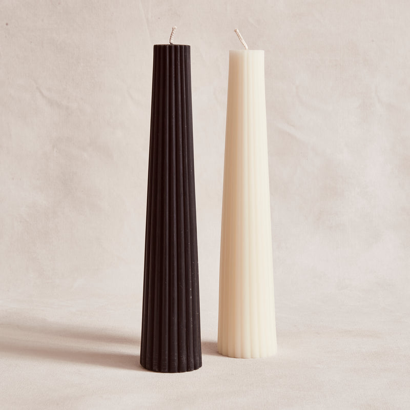 Fluted Pillar - Black