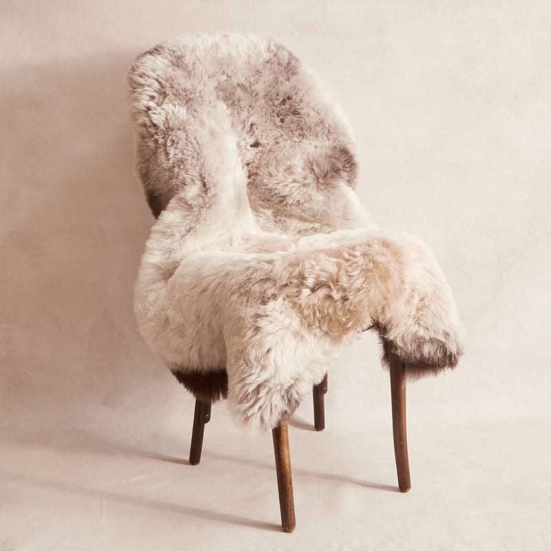 Shorn Icelandic Sheepskin - Dark Edges