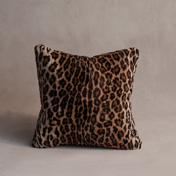 Leopard Lovers Cushion - The Catherine
