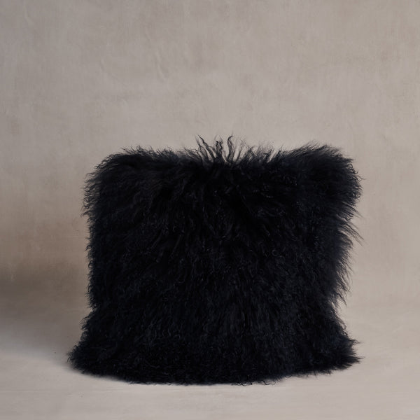 Mongolian Sheepskin Cushion - Margaret Mary