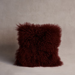 Mongolian Sheepskin Cushion - Shiraz