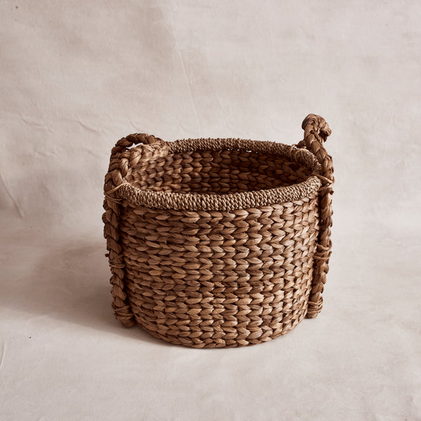 Oval Water Hyacinth Basket