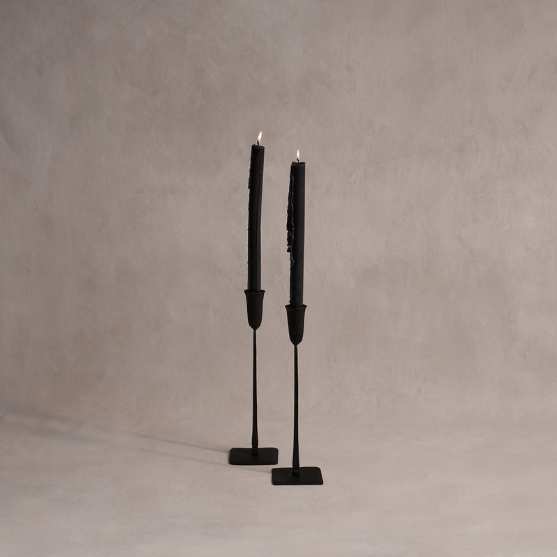 Medium Hand-Forged Candle Stick