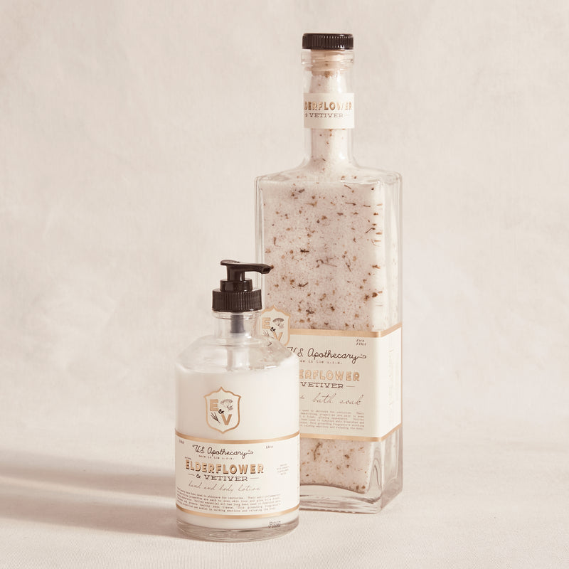 Elderflower & Vetiver Bath Salts