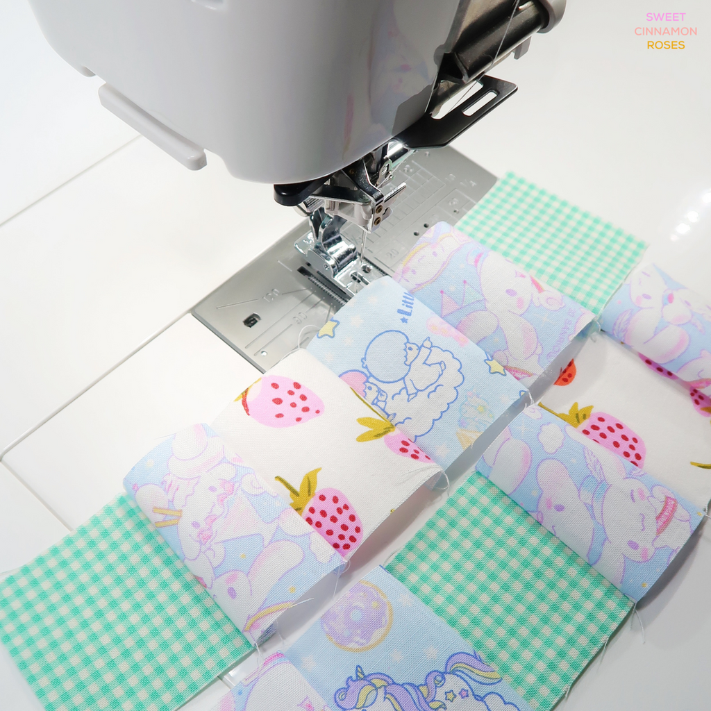 free sewing pattern (PDF) by Sweet Cinnamon Roses, patchwork pencil case download now