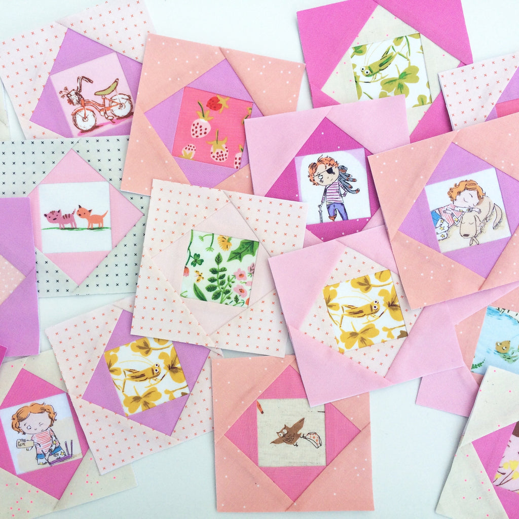 Foundation Paper Piecing Tutorial by Laura Cunningham of Sweet Cinnamon Roses