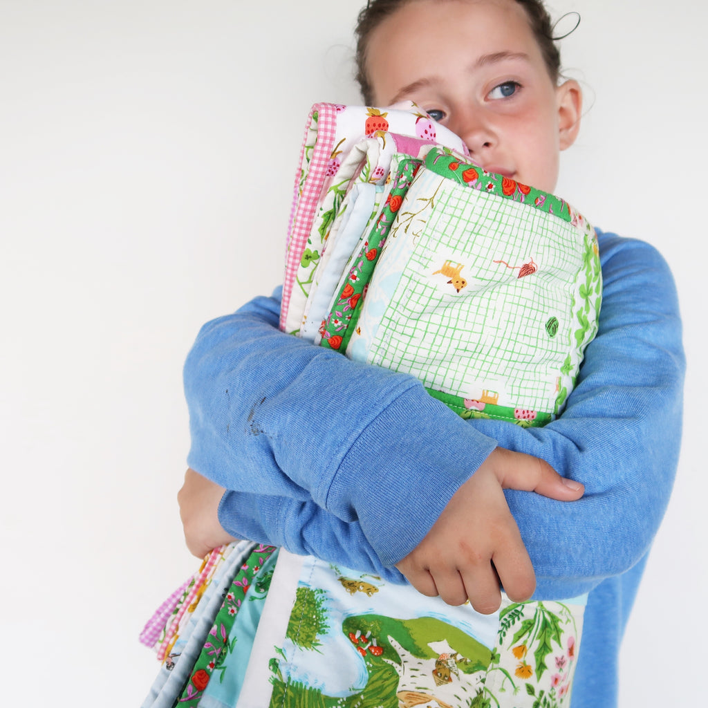 Wrap them in fairytales quilt, Great British Quilter and Sweet Cinnamon Roses