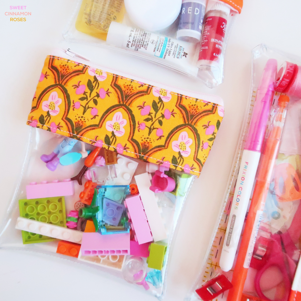See It All Pouch - a digital sewing pattern by Sweet Cinnamon Roses