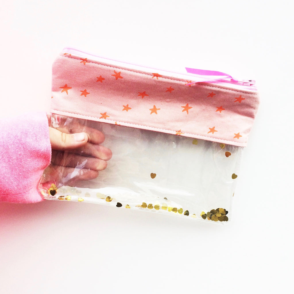 Glitter It All Pouch - PDF pattern