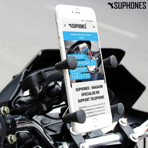 support-smartphone-moto-chargeur-usb