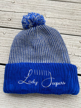 Load image into Gallery viewer, Blue Knit Beanie