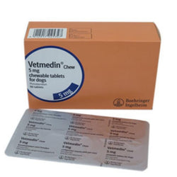 Vetmedin (Pimobendan) 5mg chewable tablet - price per tablet