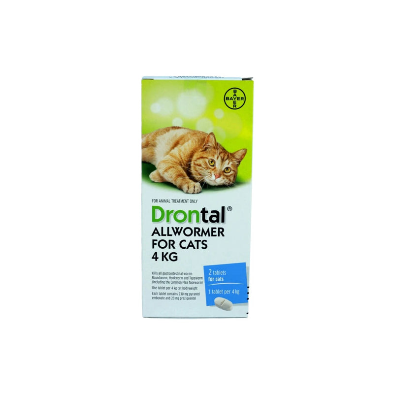 Drontal Cat Dewormer - 1 tablet per order