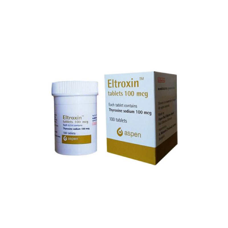 Eltroxin 100mcg - price per tablet