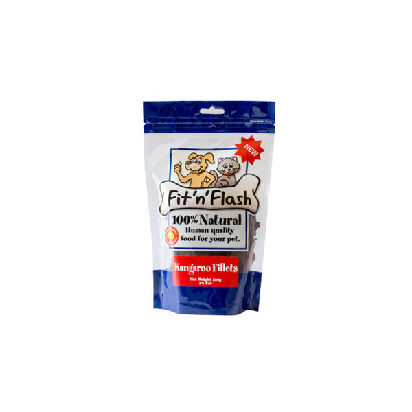 Fit and Flash Treats - Kangeroo 60g