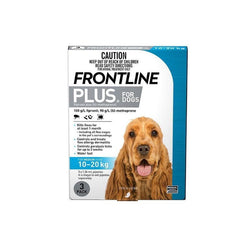Frontline Plus Spot-on Medium 10-20kg - 3 per box