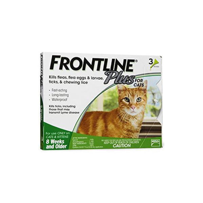 Frontline Plus Spot-on Cats - 3 per box