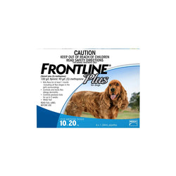 Frontline Plus Spot-on Medium 10-20kg - 6 per box